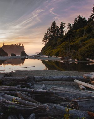 Ruby Beach. Washington. USA