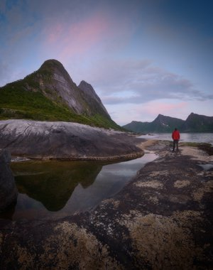Tungeneset on Senja