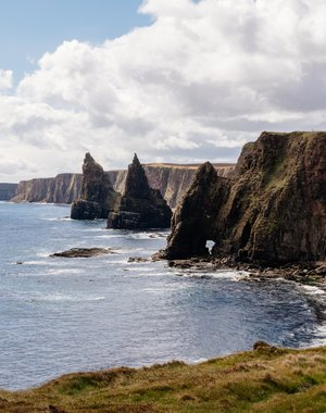Три скалы на Duncansby Stacks
