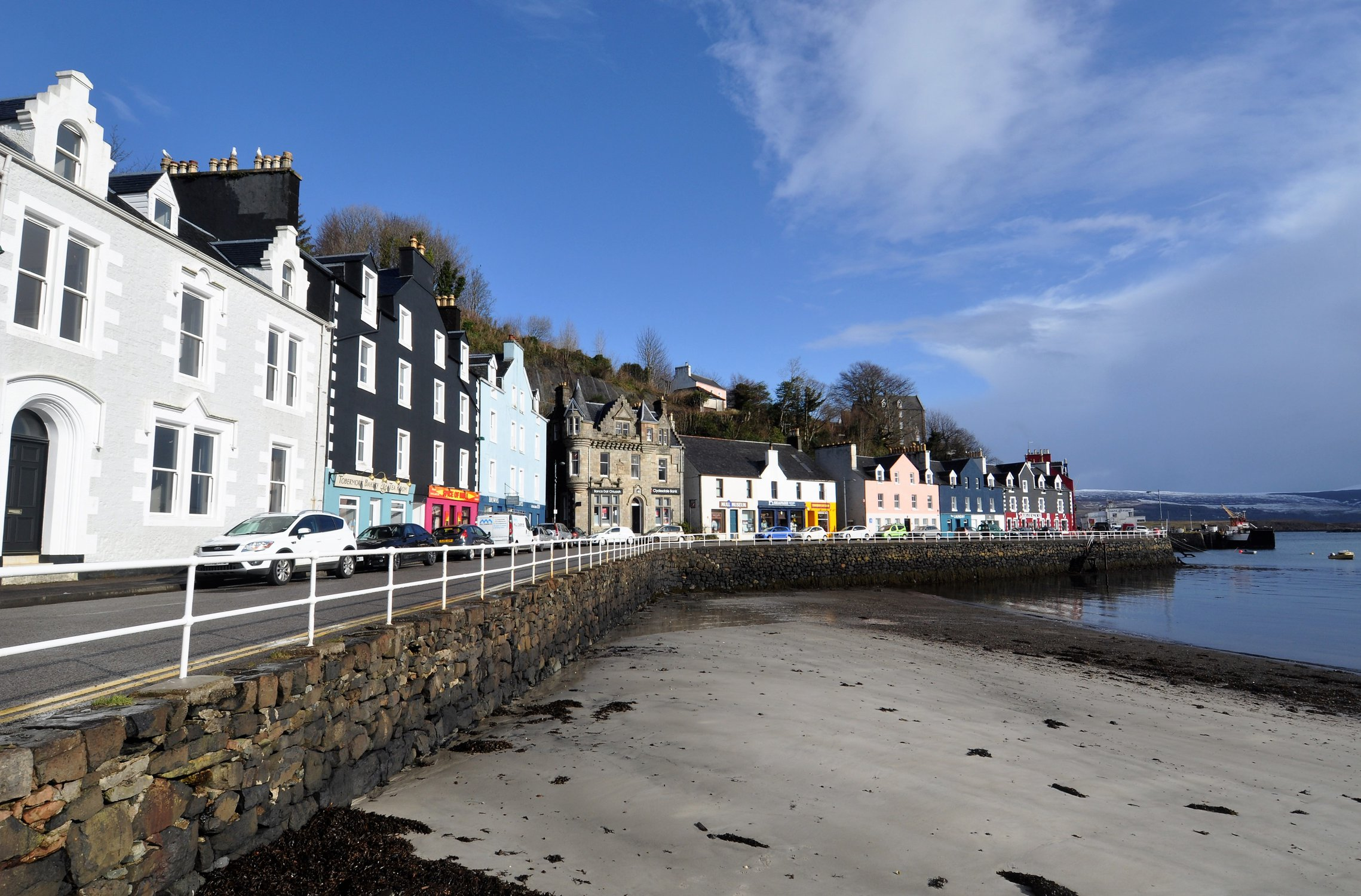 Picturesque town of Tobermory