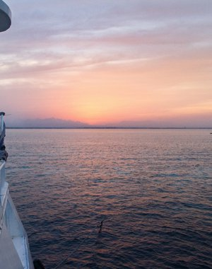 Sunset on the Red Sea