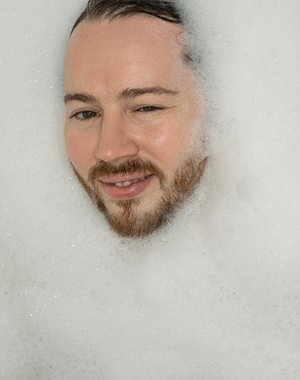 Foam self-portrait