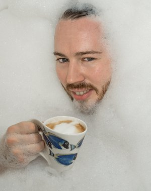Coffee and bath all together