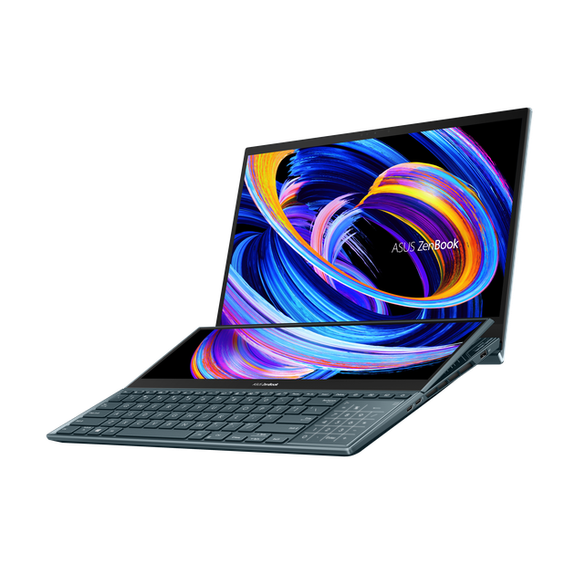 ZenBook Pro Duo 15 OLED_UX582_Product photo_1B_Celestial Blue_Web_07_NumberPad.png